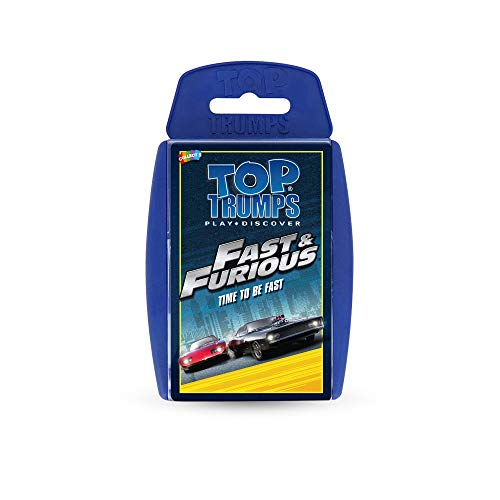Fast and Furious Top Trumps Card Game