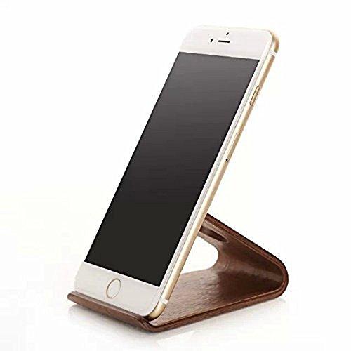 Wooden iPhone Station Samsung Smartphone