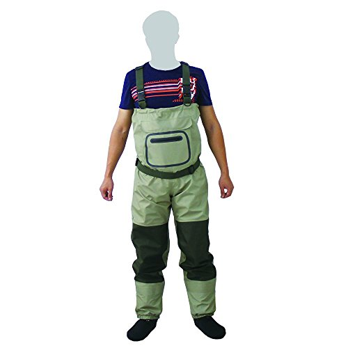 KyleBooker Fly Fishing StockingFoot Chest Wader Affordable Breathable Waterproof Chest Wader KB002