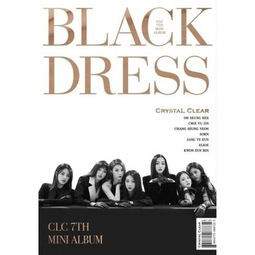 CLC – [Black Dress] 7th Mini Album CD+Booklet+PhotoCard+PostCard K-POP Sealed