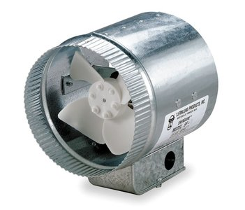 10 inch inline duct booster fan - 8