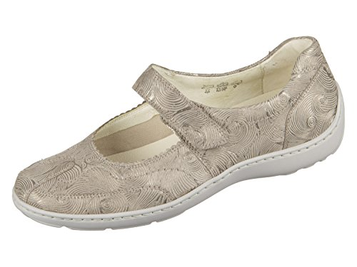 Shoe 496302 WALDLAUFER 4 Womens Taupe wYq44xf1