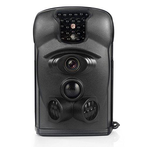Bestok Hunting Trail Camera 120° 12MP HD Infrared Night Vision 65ft 2.4'' LCD Trail Camera IP54...