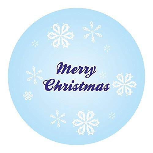 hiusan Personalised Christmas Labels - Snowflake