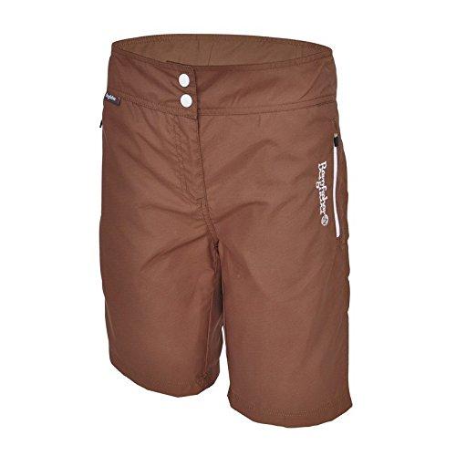 Berg fiebre Mujer Trail Multi Sport Pantalón marrón
