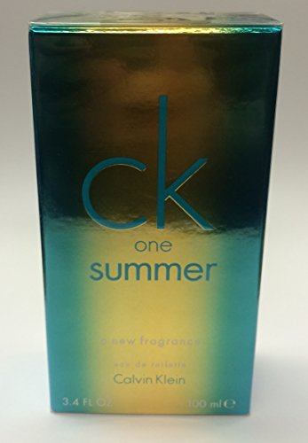 One Summer Fragrance CK. Eau De Toilette Spray 3.4 Oz (2014)