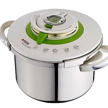 Seb P4221400 Nutricook Pressure Cooker 8 L Amazon