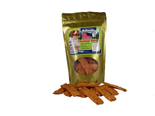 Bellyrubs Chicken Strips Dog Jerky Treats, 10 oz