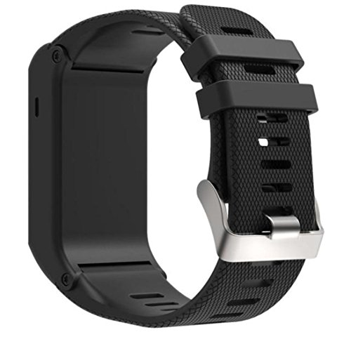 [해외]Garmin 생체 활성 HR 용 WensLTD 교체 용 연성 실리콘 팔찌 스트랩 밴드/WensLTD Replacement Accessory Soft Silicone Bracelet Strap Band For Garmi