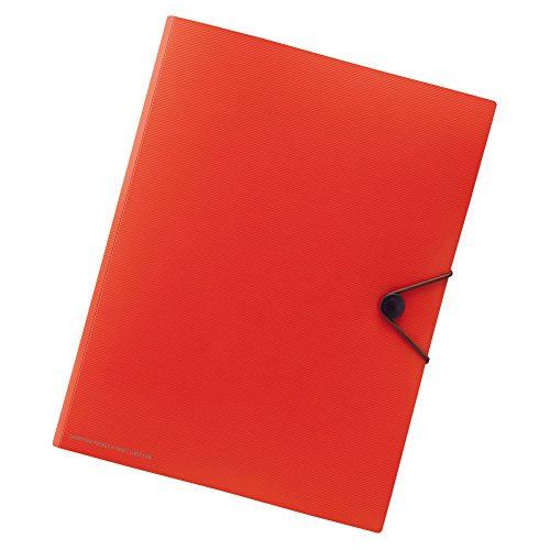 Lihit Lab., Inc. Carrying pocket F7528-4 A4 Orange