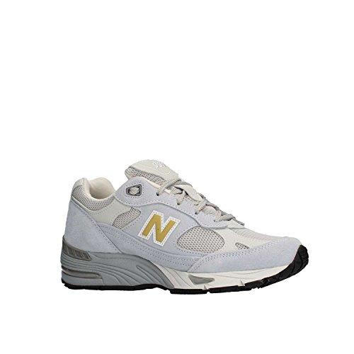 camoscio BALANCE in unisex NEW M991SMGW White sneaker xUOzOXRq