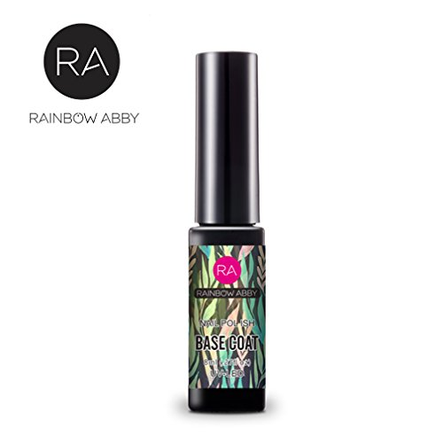 Rainbow Abby Nails Base Coat Nail Polish, Prevents from Chipping, and Cracking 0.8 fl oz