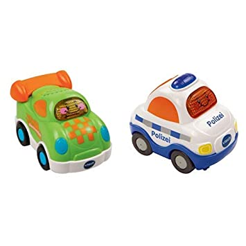 VTech Baby Tut Tut Flitzer Rennwagen Fahrzeug Kinder Phantasievolles Spielzeug Blechspielzeug