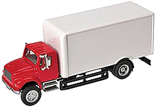 - Walthers SceneMaster International 4900 1-Axle Van, Red/White