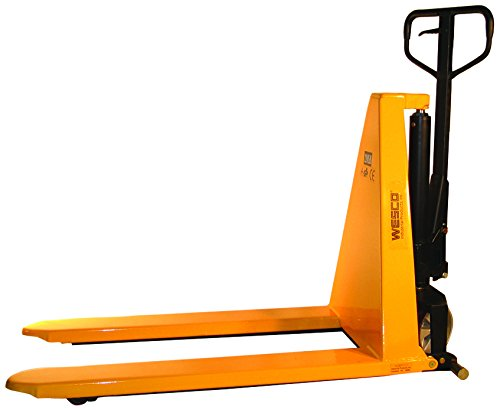Wesco Industrial Products 272462 Non-Telescoping Manual High-Lift Pallet Truck, 2200 lb. Load Capacity, 56