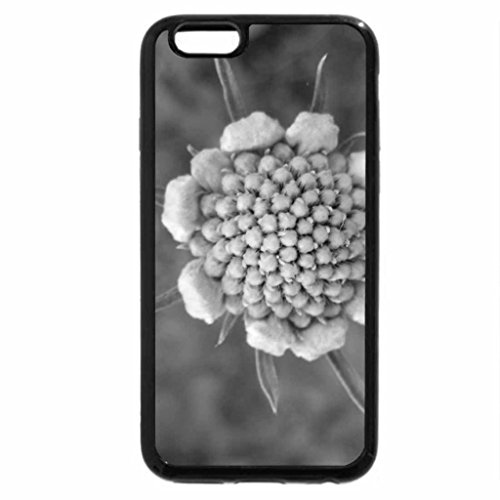 iPhone 6S Plus Case, iPhone 6 Plus Case (Black & White) - Flower