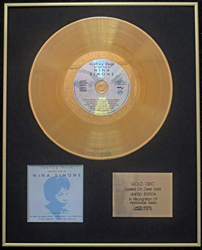 Century Presentations - Nina Simone- Exclusive Limited Edition 24 Carat Gold Disc -The Very Best of