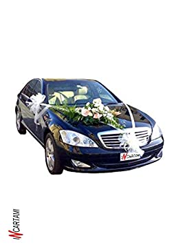Mac Calf 50 COCCARDA Nastro da 5 Centimetri Giallo 58 Rapid SVELTO Tirante Matrimoni Auto Feste Eventi Vari