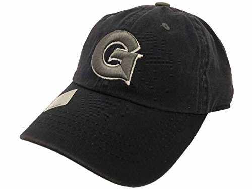 (Georgetown Hoyas TOW Youth Rookie Faded Navy Crew Adjustable Slouch Hat Cap)