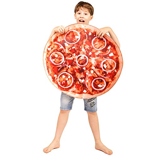 DSplay Kids Food Style Costume (Pizza) -