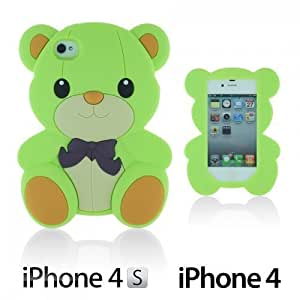 Dog Style Soft Silicone For LG G2 Case CoverLightgreen