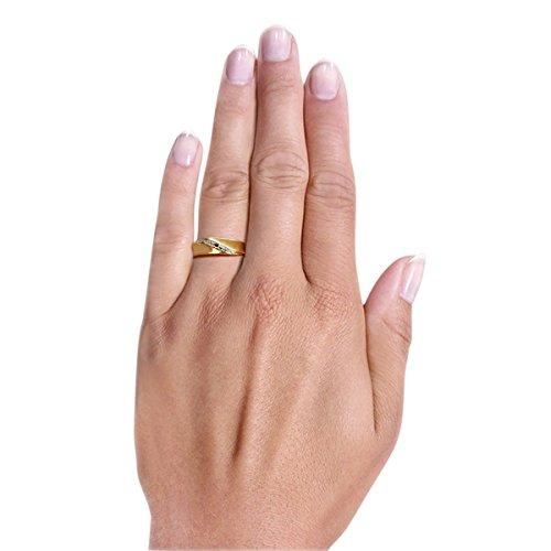 Goldmaid - Pr R797GGS50 - Bague Femme - Or jaune 333/1000 (8 carats) 1.4 gr - Saphir
