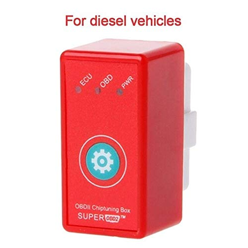 Car Code Scan Tools More Power Torque Super Nitro OBD2 Upgrade Reset Function ECU Chip Tuning Box Energy Conservation Color: for Diesel car Fuel System