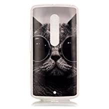 Motorola Moto X Play Slim Case,Motorola Moto X Skin,Motorola Moto X Back Case,[Slim Fit] Soft Silicone Back Cover for Moto G Play Generation TPU Cover,Cool cats