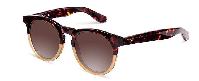 Wolfnoir Unisex-Erwachsene Sonnenbrille Hathi Ace Bicome Classic, Mehrfarbig (Bicolor/Marrón), 45