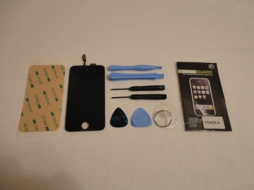 iPod Touch 4th Gen Digitizer Touch Screen + LCD Display Pre-assembly KC Trade