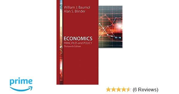 Economics Principles And Policy William J Baumol Alan S
