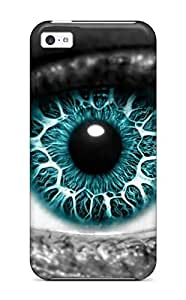 Case Cover Eye Cgi Abstract Cgi/ Fashionable Case For Iphone 5c wangjiang maoyi