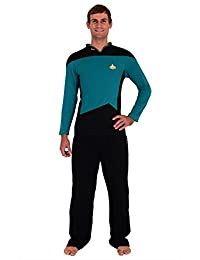 Star Trek The Next Generation STNG Command Uniform Pajamas Set