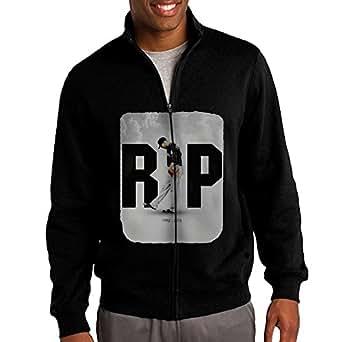 Men's Rest In Peace Jose Fernandez 1992-2016 Casual Outdoor Blend Full Front-Zip Short Coat Jacket Sweatshirt