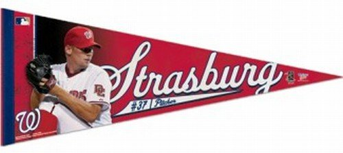 Washington Nationals Stephen Strasburg Premium Pennant