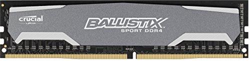 Crucial Ballsitix Sport Arbeitsspeicher 8GB Single DDR4 2400 MT/s (PC4-19200) SODIMM 288-Pin Memory - BLS8G4D240FSA