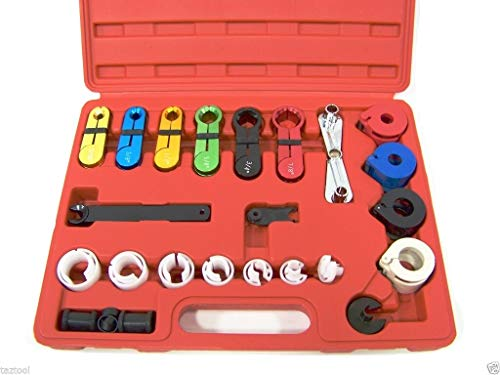 DSstyles 22 Pcs Fuel Air Conditioning A C Transmission Line Disconnect Oil Cooler Tool Set by DSstyles (Image #3)