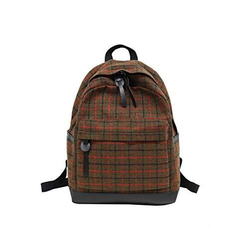 Schoolbag studenti per Liceo tracolla Girls Le Dipartimento Plaid donne A Dipartimento Vhvcx Zaino a giovani Borsa Sen 0UYdnqw