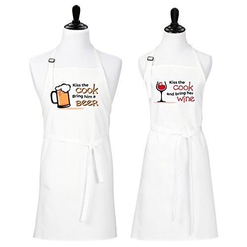 Kiss Cook Bring Aprons Couples product image