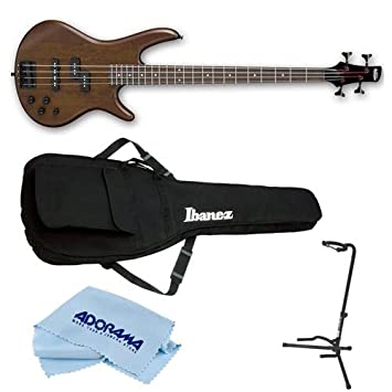 Amazon.com: Ibanez GIO Series GSR200BWNF Electric Bass Guitar ...