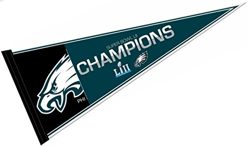 Zipperstop Philadelphia Eagles Super Bowl LII 52 Champions Pennant - 12
