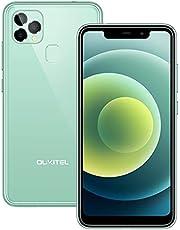 OUKITEL C22 (2021) Smartphone, 128GB ROM + 4GB RAM, Dual-SIM Android 10 Mobiele Telefoon, 4000 mAh Batterij, 5,86 inch Display, Drievoudige camera, 256 GB Uitbreidbaar, GPS (Groen)