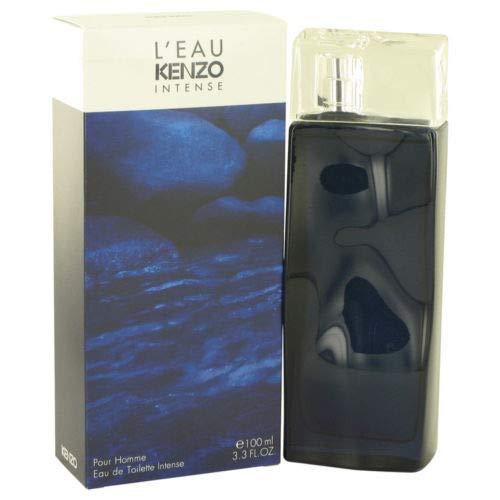 L'eau Par Kĕnżo Intense by Kĕnżo Eau De Toilette Spray For Men 3.3 FL. OZ./100 ML