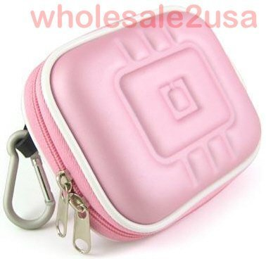 - Accessory EVA Pink GPS Hard-Shell Case Pouch for Garmin Nuvi 200 205 250 - Eva Gps Hardshell