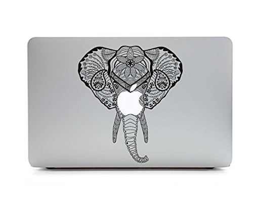 iCasso Removable Sticker Macbook Elephant 1