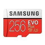 Samsung MB-MC256GA/APC 256GB Evo Plus Class 10 UHS-I microSDXC U3 with Adapter