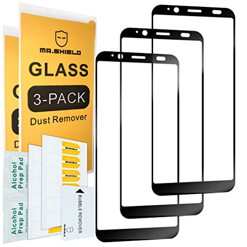 Best Life Cover - [3-Pack]-Mr.Shield for HTC U12 Life [Full Cover] Screen Protector with Lifetime Replacement