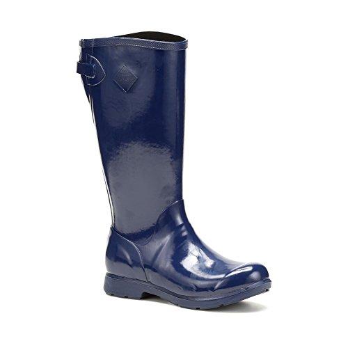 Muck Boots Bergen Tall Womens Wellies Navy