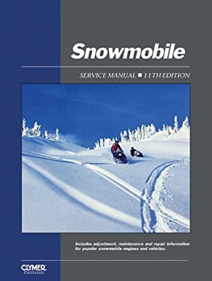 Snowmobile Service Manual, 11th Edition 11th edition by Intertec Staff (1991) Paperback