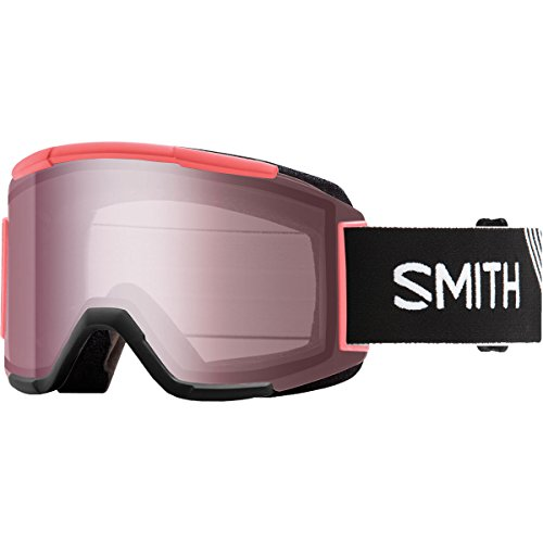 Smith Optics Squad Adult Snow Goggles - Strike/Ignitor Mirror/One Size (Mirror Ignitor Clear Lens)